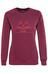 POLER Venn sweater Dames rood